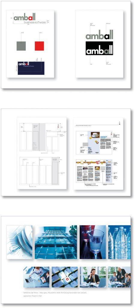 corporate design Firma amball